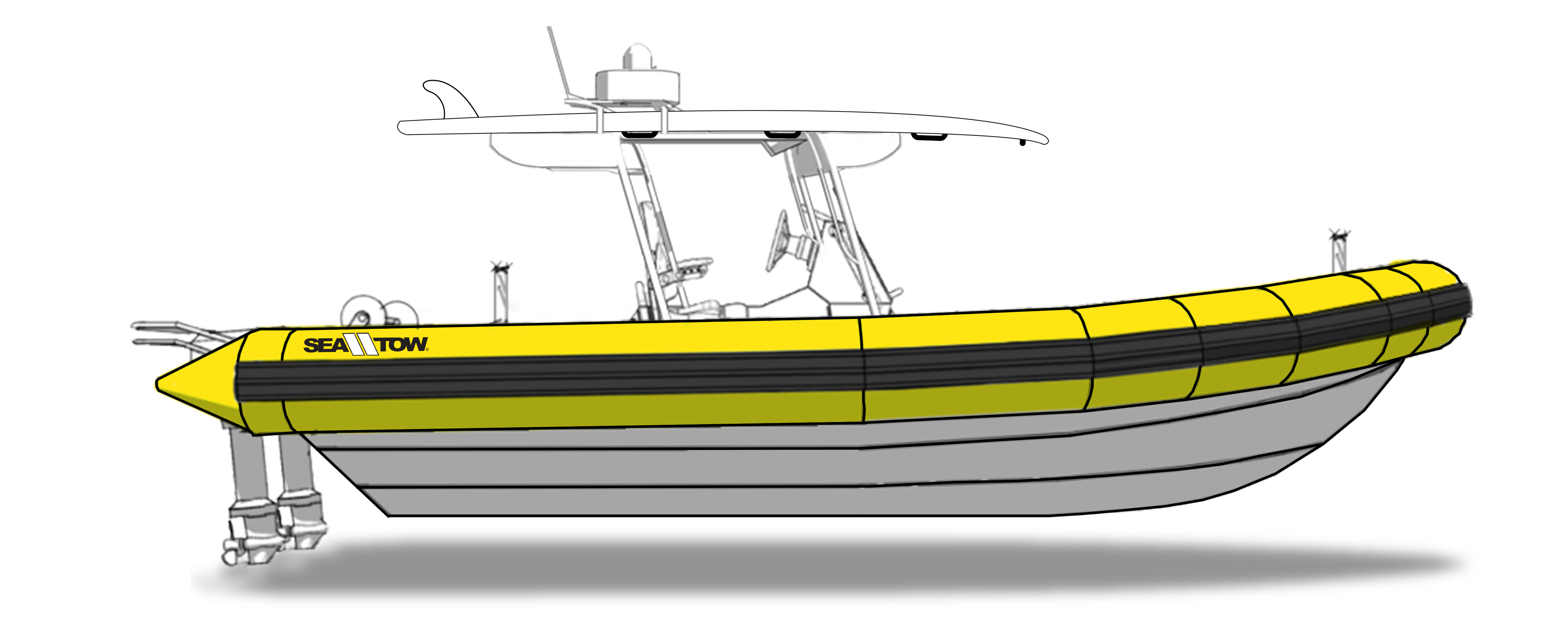 Sea Tow Treasure Coast Project RIB